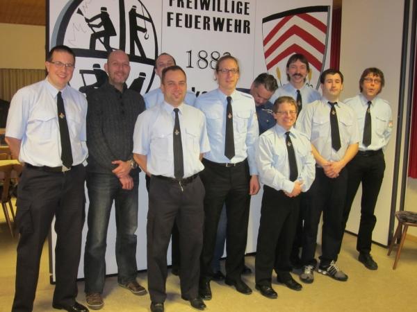 Vorstand FFW Rockenberg